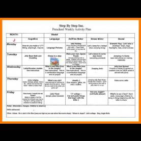 Typical Lesson Plan For Nursery Students 4+ Preschool Weekly Lesson Plan   Teller Re