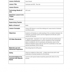 Typical Lesson Plan Sample 5E And Texas Classroom Interactions 5E Lesson Temp