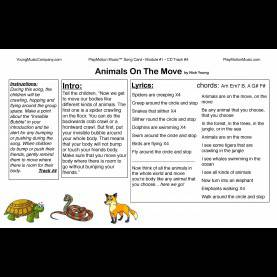 Typical Lesson Plans For Preschool Music And Movement Preschool-Music-Lesson-Plans-Song-Card - Playmotion M