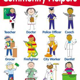 Typical Librarian Community Helper Community Helpers - Lessons - Tes T
