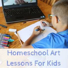 Typical Online Art Lessons For Kids Homeschool Art Lessons For Kids When You Don'T Have A Clue | Ar