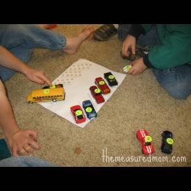 Typical Vehicle Lesson Plans For Toddlers 8 Preschool Math Ideas -- Using Toy Vehicles! - The Measure