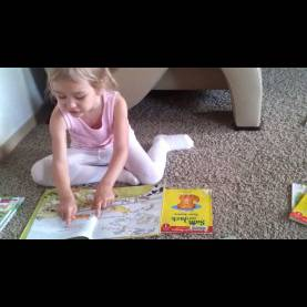 Typical What To Teach For 2 Year Old Kid 4 Year Old  Kids Learning  Reading A Book  Teach My Preschoole