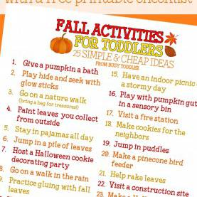 Unusual Autumn Lesson Plans For Preschool Fall Bucket List For Toddlers | Buckets, Activities And C