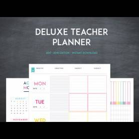 Unusual Buy Teacher Planner Deluxe Teacher Planner Instant Downloa