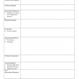 Unusual Example Of A Lesson Plan Pdf Free Lesson Plan Format Create Tickets Temp