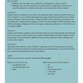 Unusual Lesson Plan For Chemistry Teachers Here Is A Lesson Plan To Help When You'Re Teaching About Th