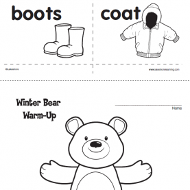Unusual Preschool Lesson Plans Clothing Theme With This Winter-Themed Lesson Plan, Preschoolers & Kindergartner