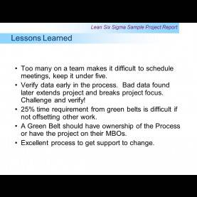 Unusual Project Closure Lessons Learned Examples Example: Project Report - Ppt Video Online Down
