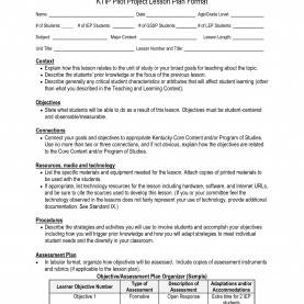 Unusual Sample Edtpa Lesson Plan Template Character Report Card Template Awesome 7 Best Of Kipp Lesson Pla
