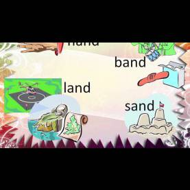 Unusual Teaching Materials For Grade 1 English - Vocabulary Words - Final Blends - Grades 1, 2 And