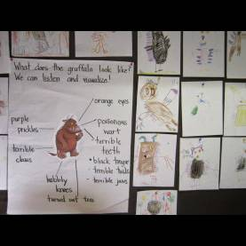 Unusual The Gruffalo Lesson Plans Abcs Of Reading: The Gruf