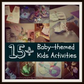 "Unusual Weekly Activities For Infants Babies"" €? Weekly Theme #1 €? If I Had A Million Hour"
