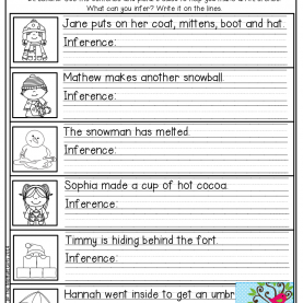 Useful 2Nd Grade Lesson Plans On Inferencing January No Prep Math And Literacy (2Nd Grade) | Making Inference