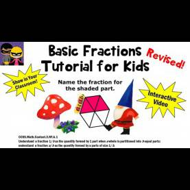 Useful 3Rd Grade Lesson Plans On Fractions Fractions For Kids Revised Tutorial 1St 2Nd 3Rd Grade Math Lesso