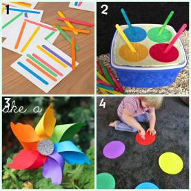 Useful Activities For 2 And 3 Year Olds 8 Colour Learning Activities For Kids | Learning Activitie