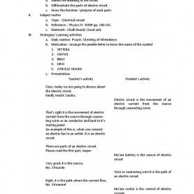 Useful Daily Lesson Plan Physics Form 5 A Detailed Lesson Plan In Mathematics Subtraction Integer Detaile