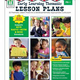 Useful Early Learning Thematic Lesson Plans Early Learning Thematic Lesson Plans Resource Book Grade Pk-