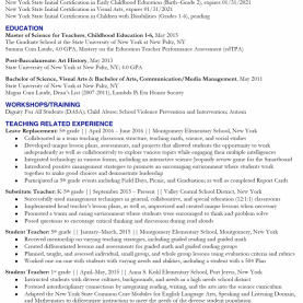 Useful Edtpa Math Examples Classy Sample Substitute Teacher Resume For ... Image Example