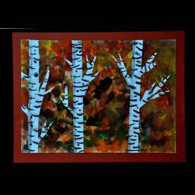 Useful Fall Art Ideas For Elementary Students Mrs. Nohelty'S Art Lab: 3Rd Grade Fall Birch Tree Landscap