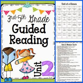 Useful Guided Reading Skills And Strategies Guided Reading Unit 2 & 3 Plus A Freebie | 3Rd Grade | Pinteres