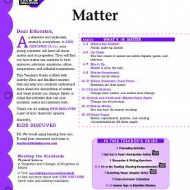 Useful Lesson Plan Science Matter This Free Lesson Plan For Kids Discover Matter Is Packed Wit