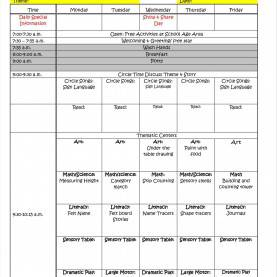Useful Lesson Plan Template With Times Weekly Lesson Plan Template Excel | Exltempl