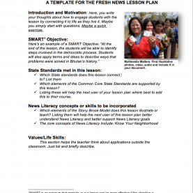 Useful Lesson Plans For Teaching Journalism Diy News Literacy Lessons | Stony Brook Center For News Lite