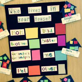 Useful Math Activities For Preschoolers At Home Great Math Activity To Support I Am Special-My Family. Childre