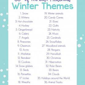 Useful Math Themed Lesson Plans For Preschoolers 35+ Best Winter Preschool Themes And Lesson Plans | Math Ste