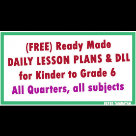 Useful Ready Made Lesson Plan For Grade 5 Ready Made Lesson Plan & Dll   Ruby R. Samsona   Pinteres