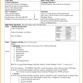 Useful Siop Lesson Plan For English Language Learners Siop Lesson Plan Template By Hbakk15 Pictures | Class | Pinteres