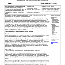 Useful Social Studies Lesson Plans Social Studies Lesson P
