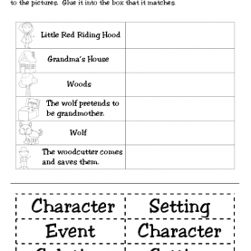 Valuable 1St Grade Lesson Plans Story Elements First Grade Funtastic: Little Red Riding Hood   Monthly Idea