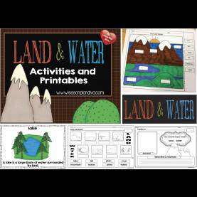 Valuable 3Rd Grade Lesson Plans On Landforms Landforms And Bodies Of Water Freebie! - The Lesson Plan