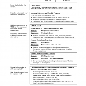 Valuable Body Image Lesson Plans Sample Lesson Plan Format - Wow.Com - Image Results | Educatio