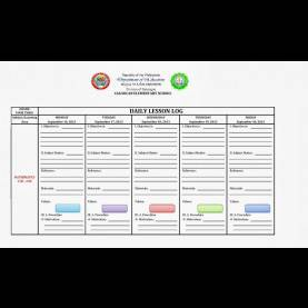 Valuable Daily Lesson Plan Template Deped Daily Lesson Log Format - English & Filipino Language ~ Filesis