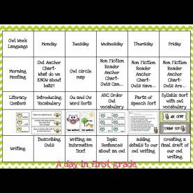 Valuable First Grade Lesson Plans For December A Day In First Grade | Getting Ready For A Week Of O
