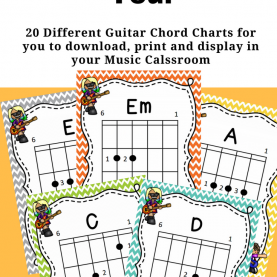 Valuable Free Printable Teaching Resources 20 Free Printable Guitar Chord Charts By Jooya Teaching Resource