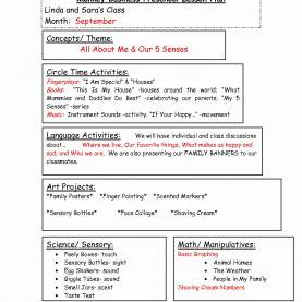 Valuable Preschool Lesson Plan Themes By Month 57 Elegant My Home Theme Preschool Lesson Plan - House Floor Plan