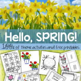 Valuable Preschool Spring Activities Lesson Plans 100S Of Activity Printables And Games To Make For A Spring Them