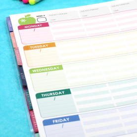 Valuable The Best Teacher Planners The Best Teacher Planner Ever - A Peek Inside! - A Teachable Tea