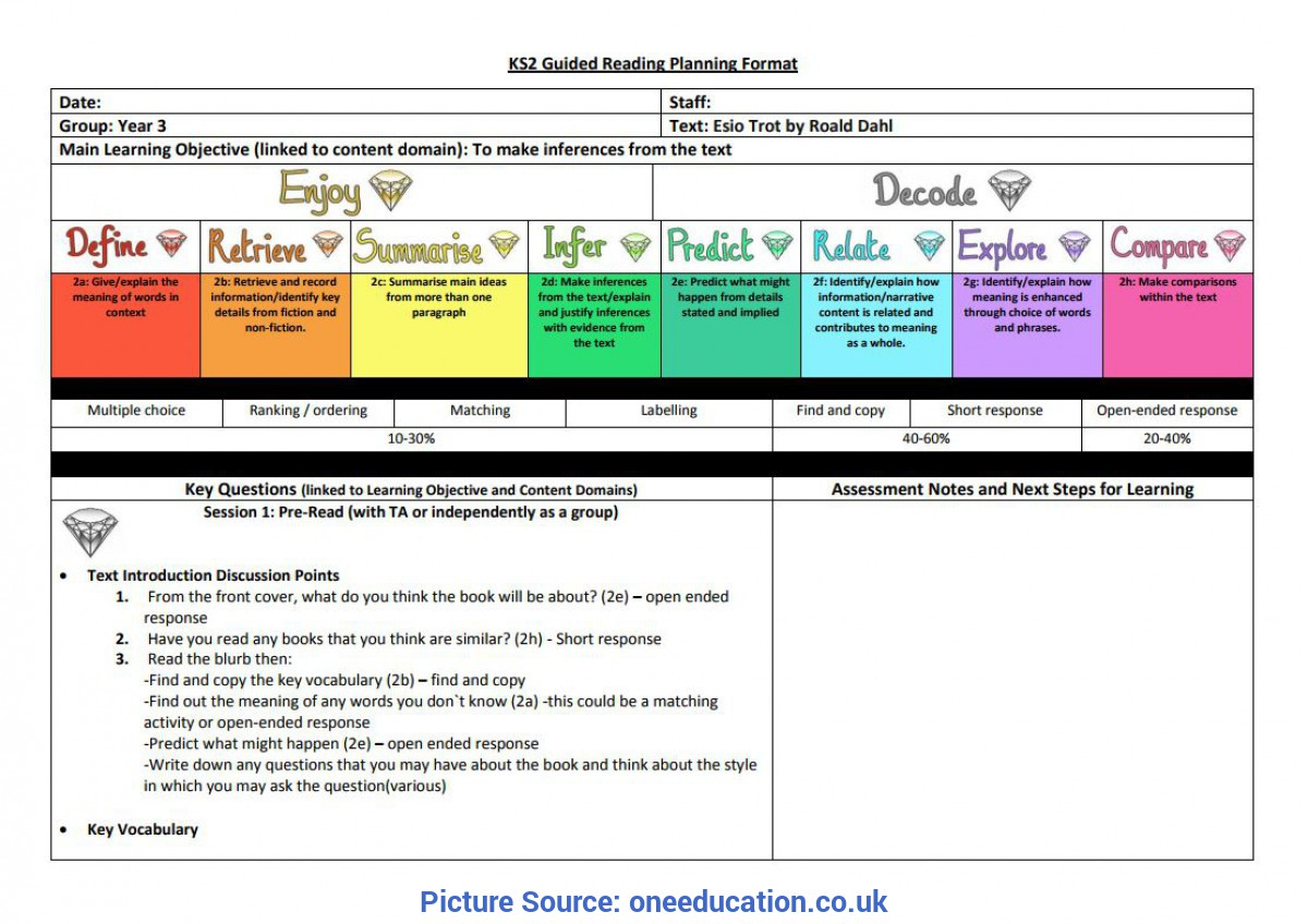 Top Guided Reading Year 3 Ks1 & Ks2 Content Domains | One Editorial | One Educa