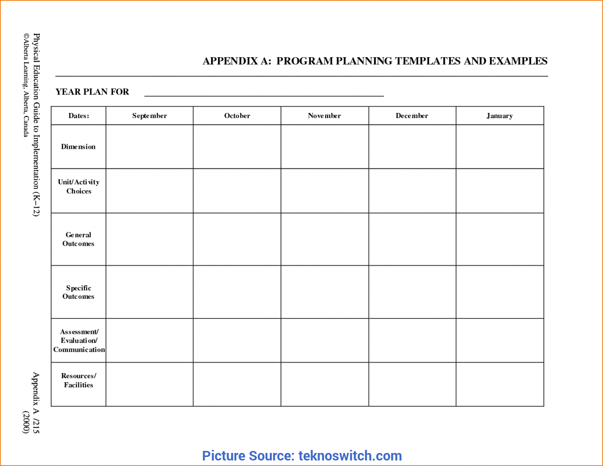 Trending Preschool Monthly Lesson Plan Template 5+ Free Lesson Plan Template | Teknosw