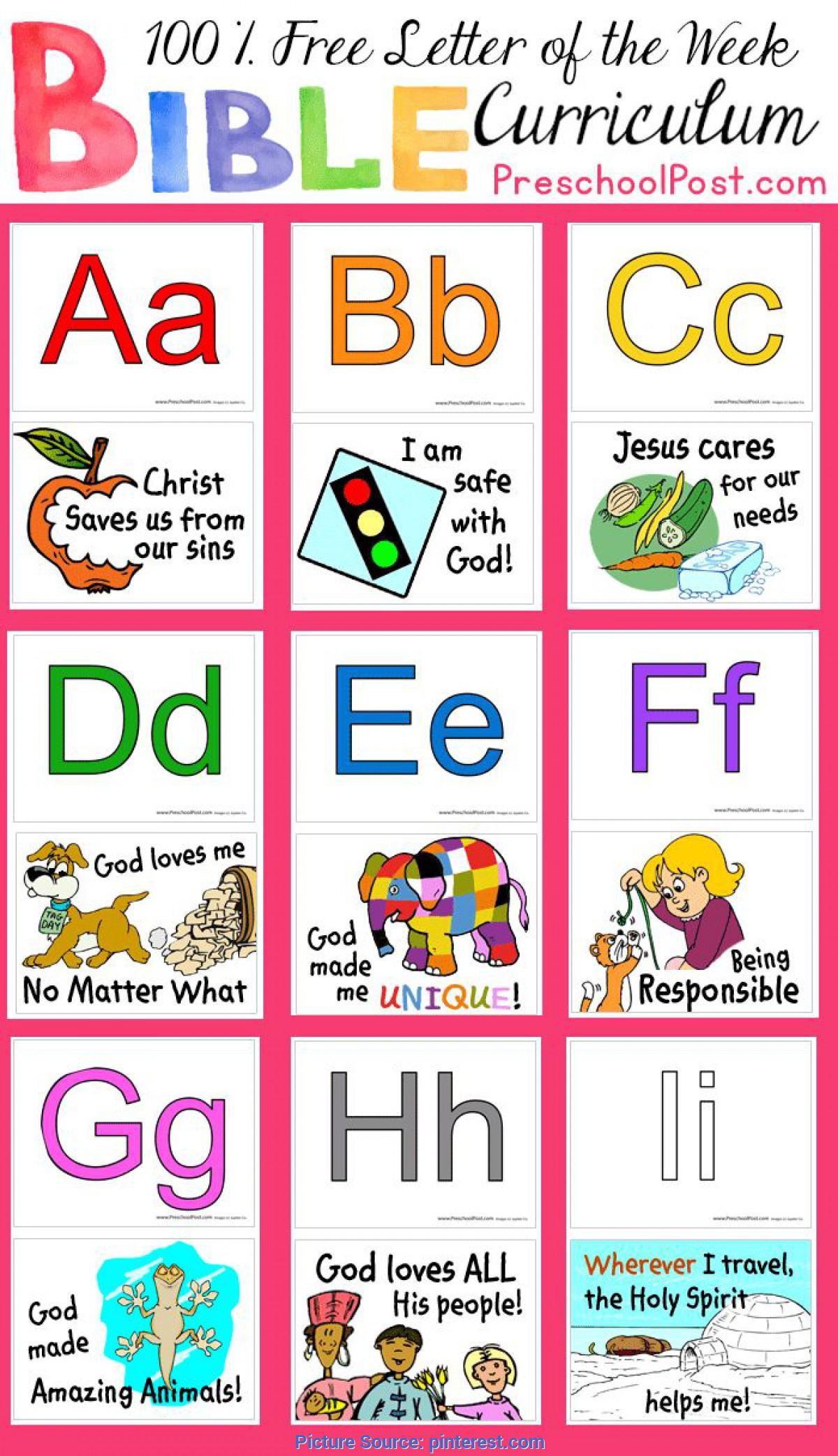 Typical Toddler Preschool Curriculum 36 Weeks Of Free Preschool Lessons! This Free Letter Of The Wee