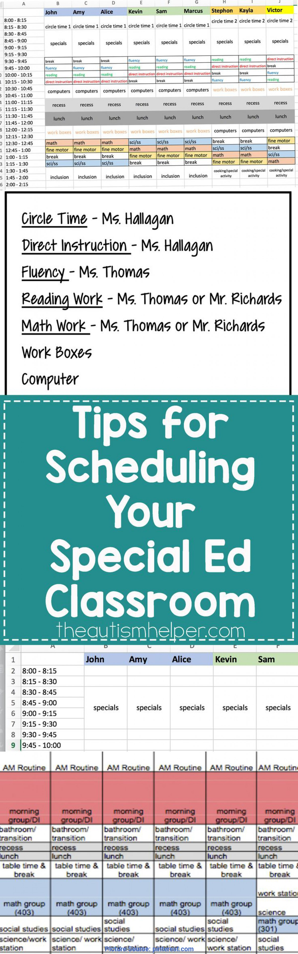 Unusual Lesson Plan Book Special Education Best 25+ Elementary Special Education Ideas On Pinterest | Specia
