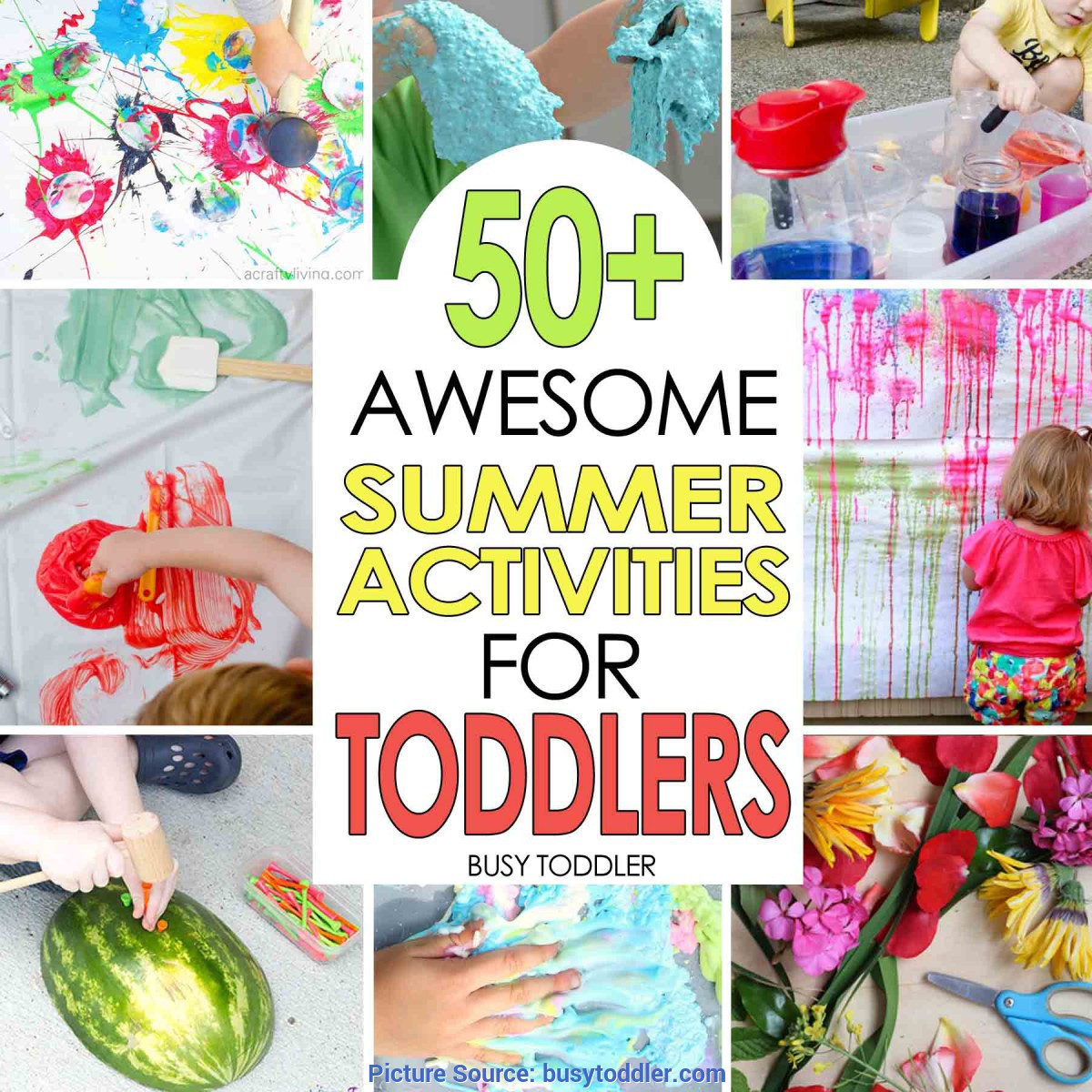 Unusual Lesson Plans For Toddlers Summer 50+ Awesome Summer Activities For Toddlers - Busy Tod