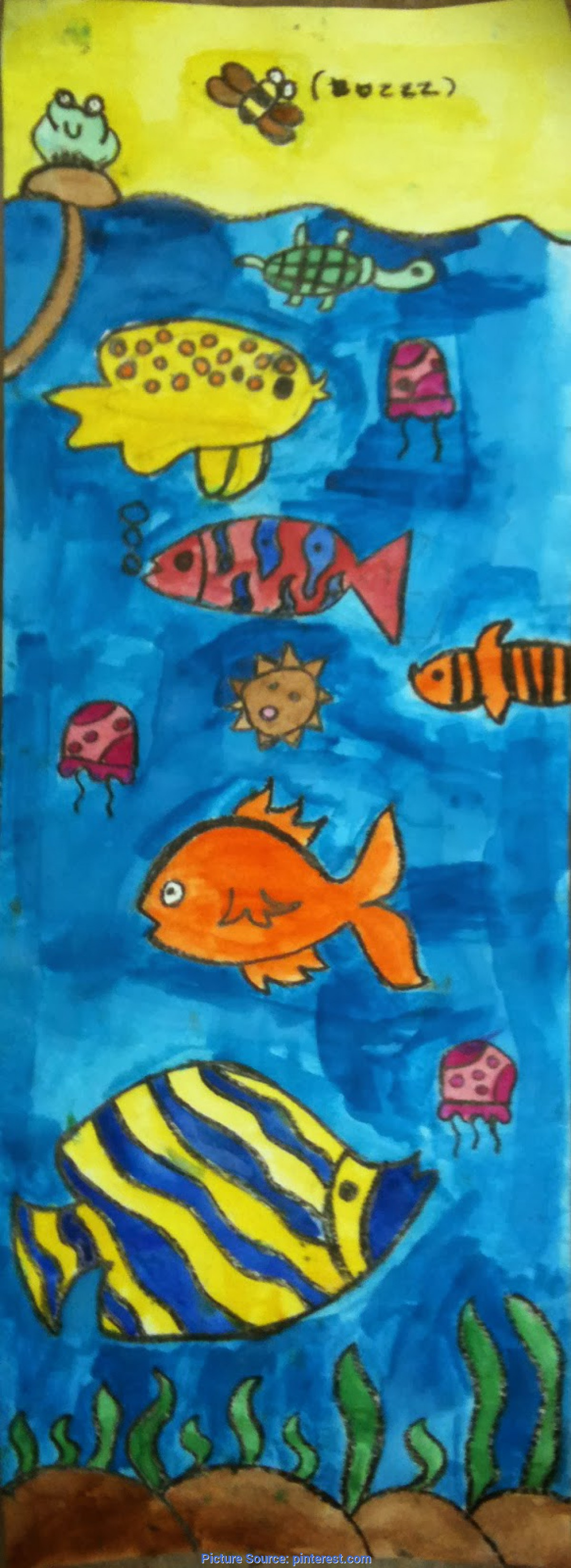 Useful Art Lesson Plans Under The Sea Art Room Blog: 3Rd Grade Lesson Plans | Art Projects | Pinte