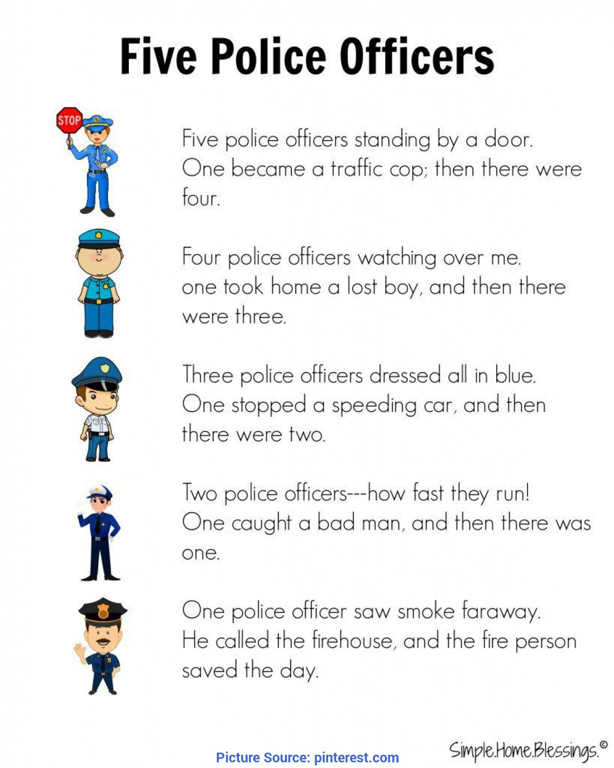 Useful Creative Curriculum Lesson Plans Community Helpers Preschool Helpers: Police Men | Community Helpers, Community And S