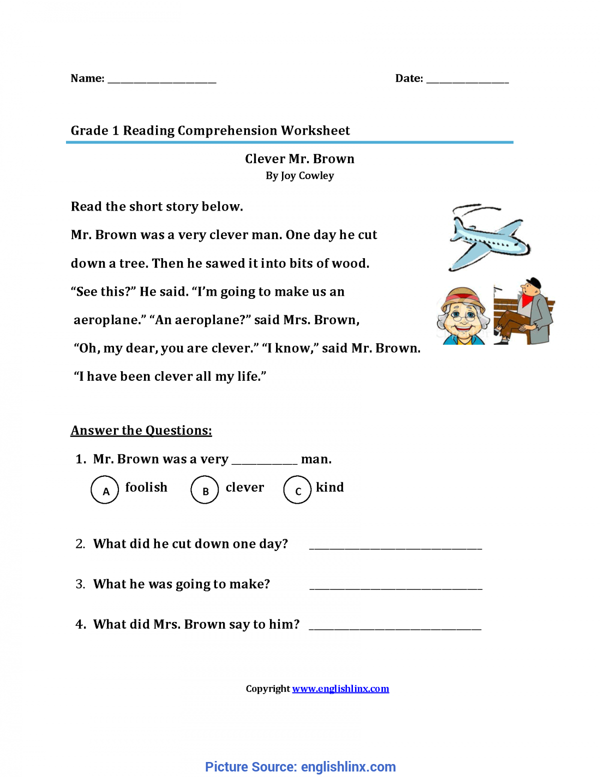 Useful First Grade Reading Worksheets Reading Worksheets | First Grade Reading Worksh